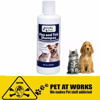 Harga Royal Pet Tick and Flea Shampoo (240ml) For Dog and cats pets Natural solution