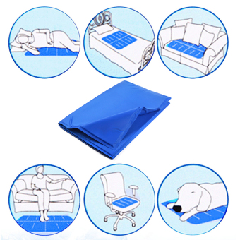 Harga Pet Dog Cat Summer Cooling Bed Ice Pad Cushion Mat L - intl