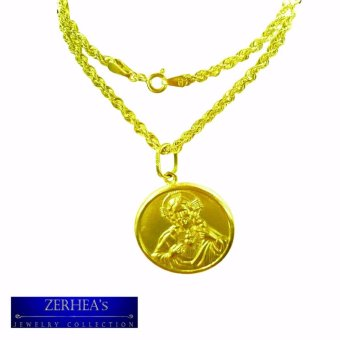 ZERHEA's 18k Mens Necklace with Holy Pendant Price Philippines