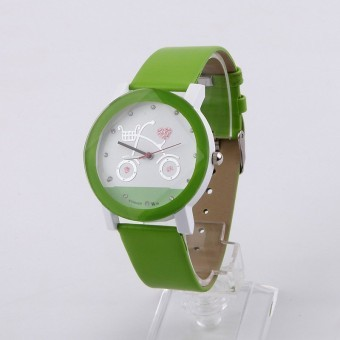 Hot selling watches Leisure watches sell like hot cakes Cartoon watches sell like hot cakes green Price Philippines