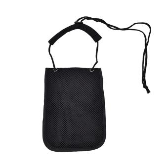 Harga Secure Passport Neck Pouch Money Cord Clothes Wallet Organizer Holder Bag Black - intl