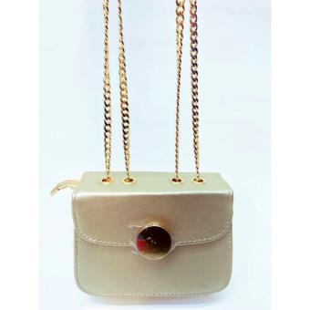 Newest Shop Hong Kong High Fashion Claire Sling Bag (Gold) Price Philippines