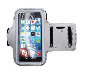 TECH GEAR Sport Armband for iPhone 6 (Silver/Gray) Price Philippines