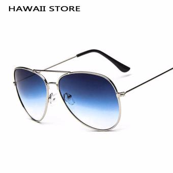 Harga Classical Pilot Sunglass For Men Driving Gradient Sun Glasses Fashion Shades Multicolor Lens - Intl