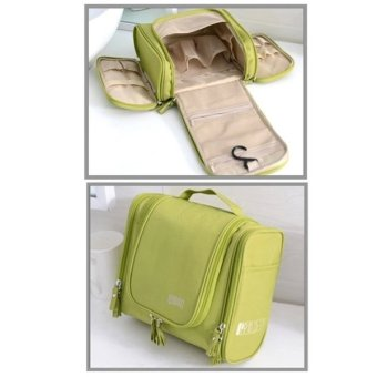 Waterproof Storage Bag / Cosmetic Bag / Make Up Organize for Travel (Green) Price Philippines
