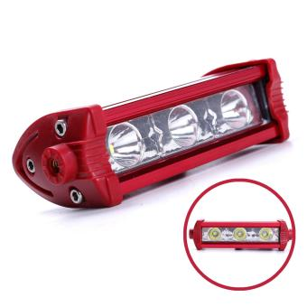 Harga Motor Craze Universal Motorcycle 3 LED Light (Red/Red)