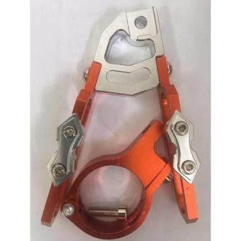 Universal Alloy Cable Holder For Motorcycle(Orange) Price Philippines