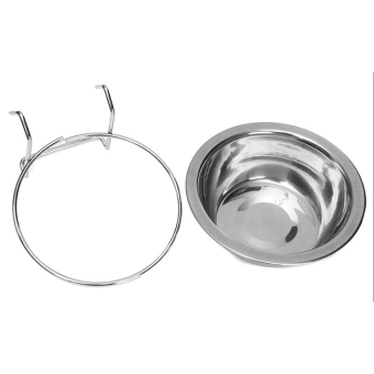 GOOD Stainless Steel Hanging Bowl Feeding Bowl Pet Bird Dog Food Water Cage Cup Price Philippines