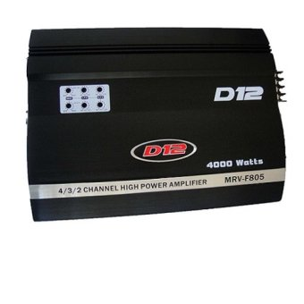 D12 MRV-F805 Amplifier (Black) Price Philippines