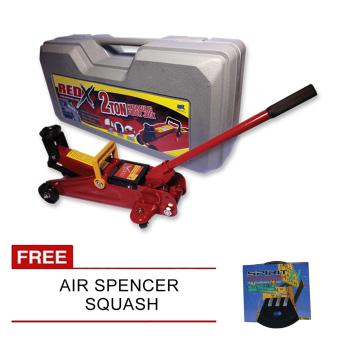 Harga NFSC - Red X Hydraulic Floor Jack With Free Air Spencer Squash