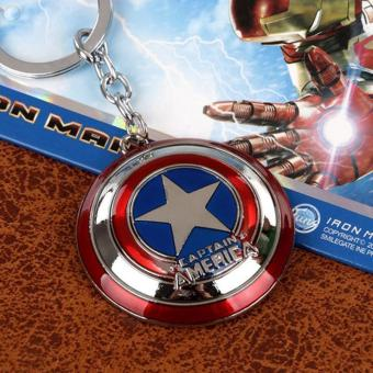 The Avengers Captain America Shield Keychain Keyrings Price Philippines