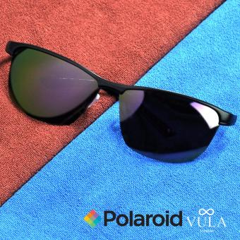 Harga Vula Casual Summer Unisex Polaroid Sunglasses Shades Eyeglasses 305 (Multicolor 1)