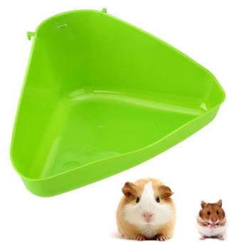 Harga Pet Corner Toilet Litter Tray Box for Cat Mouse Rat Rabbit Hamster Mice - intl