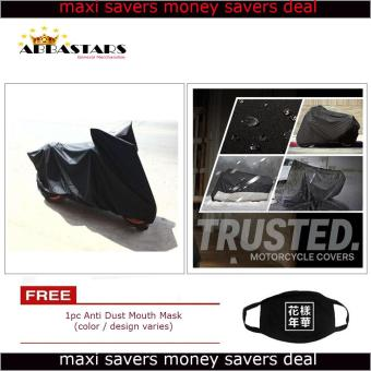 Motorcycle Cover Thick Durable High Quality Waterproof Dustproof for Kawaski Bajaj Rouser 135LS Price Philippines