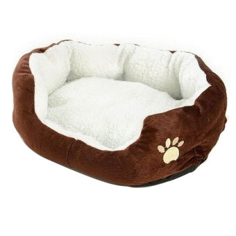 Harga Comfy Cotton Pet Dog Cat Bed With Detachable Pad (Intl)