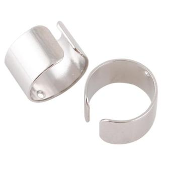 Harga BUYINCOINS One Pair Bone Ear Cuff (Silver)