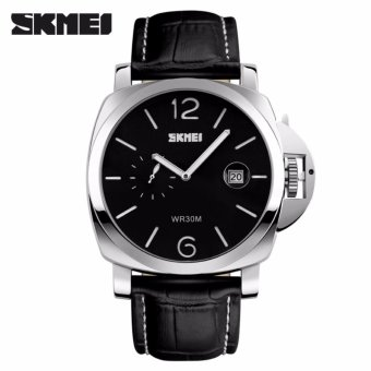 Harga 2017 1124 SKMEI Luxury Brand Men fashion casual Watches analog Quartz rubber band Wristwatches 30m waterproof relogio masculino