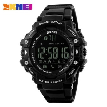 SKMEI 1226 Men's Smart Outdoor Sports Watches Bluetooth Fitness Tracker Watches 50M Waterproof Watches intl Price Philippines