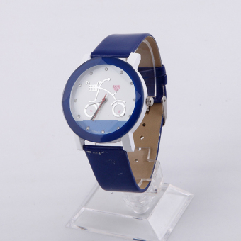 Girl Leisure Watches Sell Like Hotcakes Cartoon Watches (Blue) Price Philippines