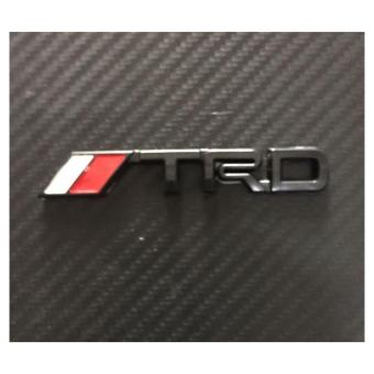 TRD Badge Emblem Stick on type Small (Black) Price Philippines