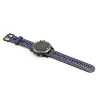 Replacement Watch Strap Band for Garmin Fenix 3 Smart Watch Wristband +Tool, Blue - intl Price Philippines
