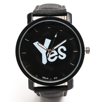 Harga Yes Watch Black Strap