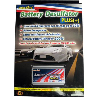 Pulse King Battery Desulfator Plus (Silver) Price Philippines