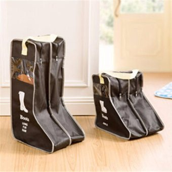Harga Boots Traveling Shoe Bag Home Boots Storage Bag Shoes Storage Bag Visual Dust Boots Boots - intl