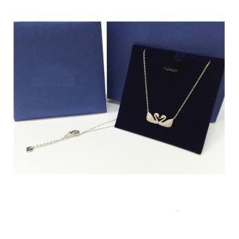 New Shop Hong Kong SWAN NECKLACE (silver) Price Philippines
