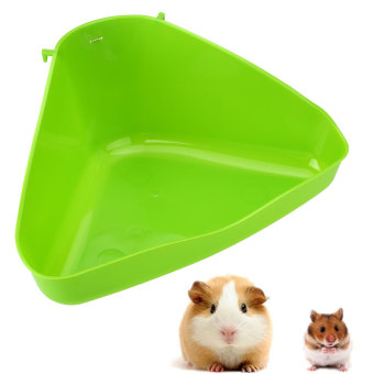 Harga Pet Corner Toilet Litter Tray Box for Cat Mouse Rat Rabbit Hamster Mice Plastic