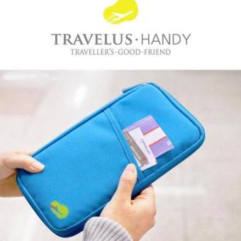 Harga QF Travel Wallet Passport Ticket Holder Organizer