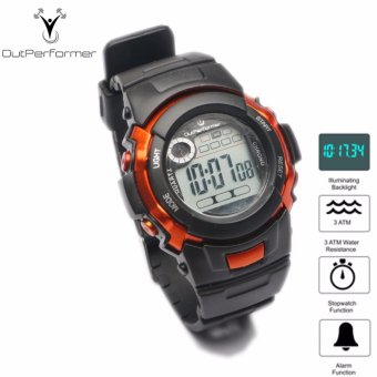 Harga Outperformer Chronology Series Kinetic X Watch with Stopwatch