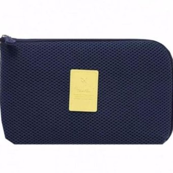 Harga Travel Cable Pouch (Dutch Navy)