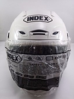 Index Motorcycle Helmet Titan 3 (White)