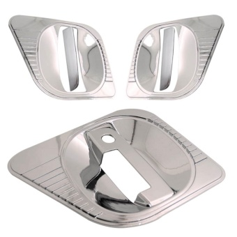 Inner Bowl and Handle Cover for Nissan Urvan NV350 (Chrome) Price Philippines