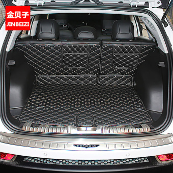 Jeep interior modified environmentally friendly full back-up box pad trunk mat