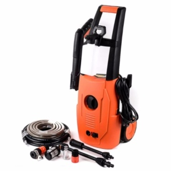 Kawasaki High Pressure Washer Set (Orange)