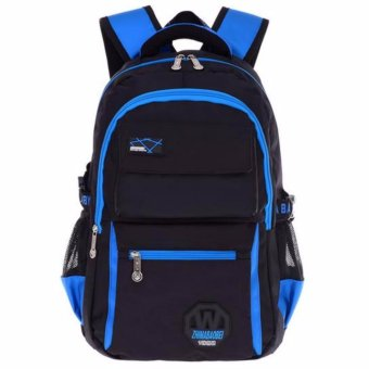 Kids Backpack High Quality School Bags Primary School for GirlsBoys Fashion design Waterproof Bag - intl