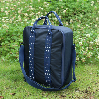 Korean Large Capacity Easy to Carry Business Travel Bags(Dark Blue-30-0.6)