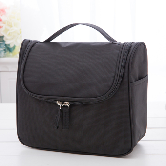 Large capacity portable female travel large vanity case makeup bag