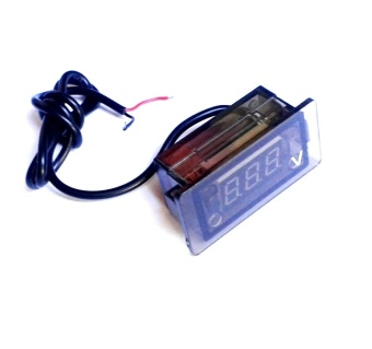 LED Waterproof Car Motorcycle Digital DC Voltmeter #0068
