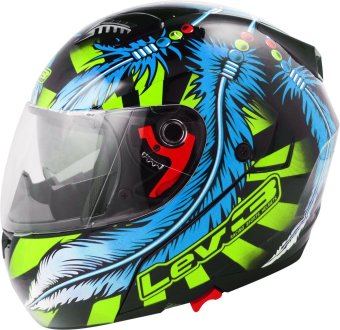 Lev3(R) Modular Flip-Up BJ-5710 Dream (Black/Lime/Blue) Price Philippines