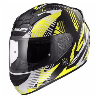 LS2 Full Face FF352 Infinite Helmet (White Black Yellow)