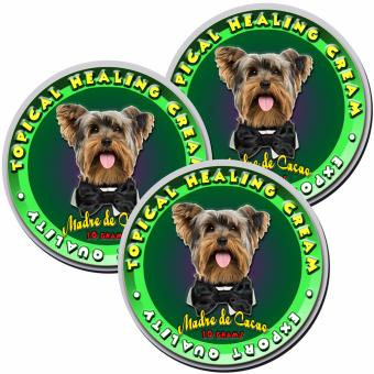 Madre de Cacao Healing Cream for Dogs and Cats 10 grams Set of 3
