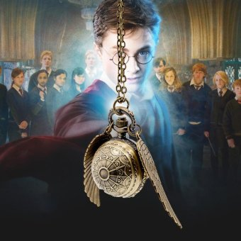 Makiyo Harry Potter wings pocket watch necklace spider-shaped Double side wings - intl Price Philippines