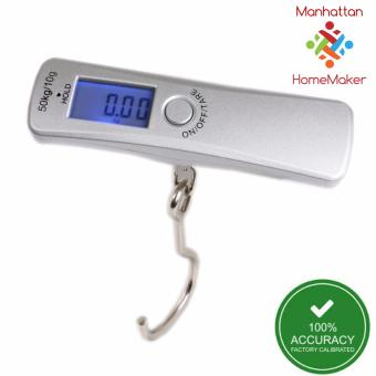 Manhattan Homemaker Accuscale Digital Luggage Scale with Backlight(metal loop)