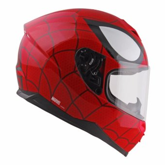 Marvel Full-Face Motorcycle Helmet Ultimate Spider-man FF3 G 661 (Red)