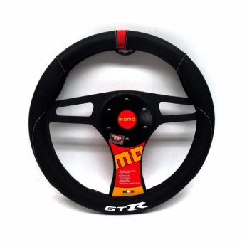 Momo Steering Wheel Cover 010 Gtr Black/Red Price Philippines