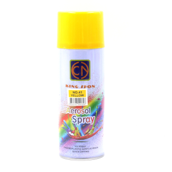 Motor Craze King Sfon Aerosol Spray Paint (Yellow)