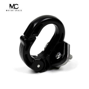 Motor Craze Motorcycle Helmet Hook/ Helmet Holder (Black)